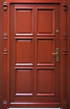 Meranti drzwi