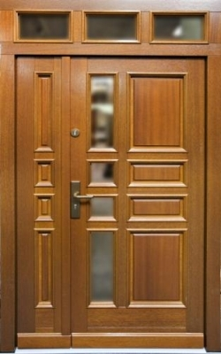 Drzwi zewnętrzne z rozbiórki